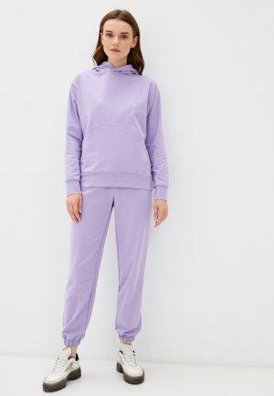 Костюм спортивный Агапэ. Цвет: фиолетовый
