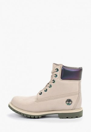 Тимберленды Timberland 6in Premium Boot. Цвет: бежевый