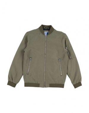 Куртка JACK & JONES. Цвет: зеленый-милитари