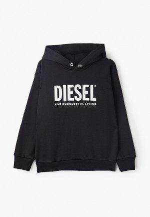 Худи Diesel. Цвет: черный