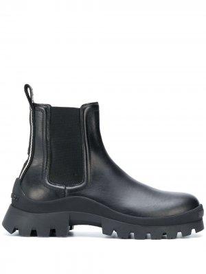 Массивные ботинки Dsquared2. Цвет: черный