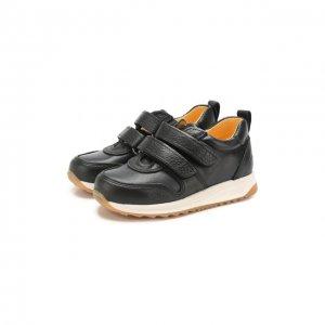 Кожаные кроссовки Angulus. Цвет: синий