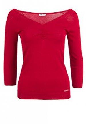 Пуловер LIU JO. Цвет: бордовый
