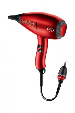 Фен Swiss SILENT 9500 Ionic SX VALERA. Цвет: красный