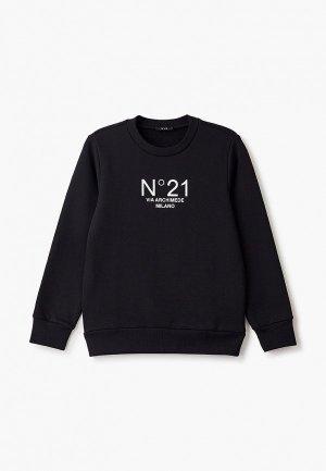 Свитшот N21. Цвет: черный