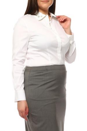 Блуза Laurel. Цвет: белый