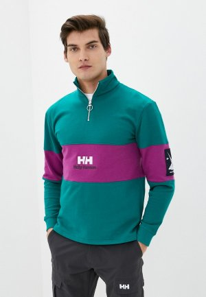 Олимпийка Helly Hansen YU20 1/2 ZIP SWEAT. Цвет: зеленый