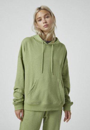 Худи Pull&Bear. Цвет: зеленый