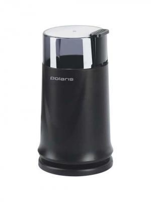 Кофемолка Polaris PCG1317 170Вт сист.помол.:ротац.нож вместим.:70гр черный. Цвет: черный