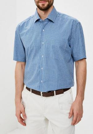 Рубашка Hansgrubber. Цвет: синий