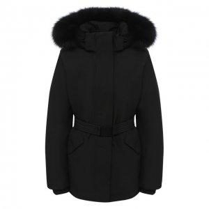 Пуховая куртка Woolrich. Цвет: чёрный