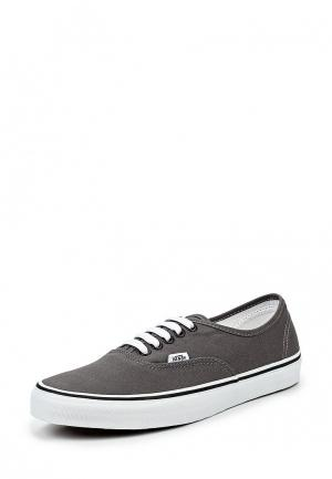 Кеды Vans U AUTHENTIC Pewter/Black. Цвет: серый