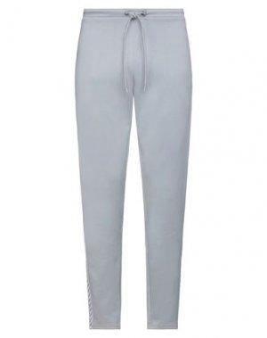 Повседневные брюки HUMMEL. Цвет: серый