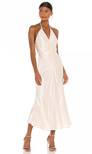 Платье sophia Shona Joy. Цвет: кремовый