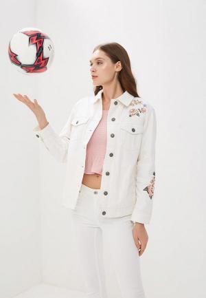 Куртка джинсовая OVS. Цвет: белый
