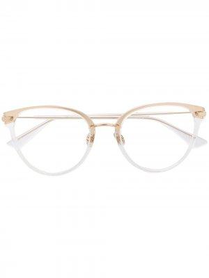Очки Diorline 2 в круглой оправе Dior Eyewear. Цвет: нейтральные цвета