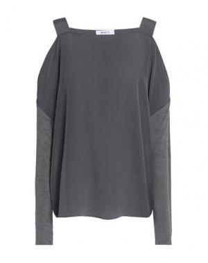 Блузка BAILEY 44. Цвет: свинцово-серый