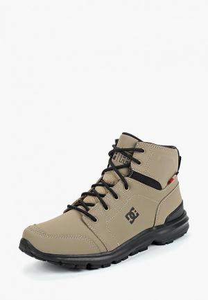 Ботинки DC Shoes TORSTEIN. Цвет: серый