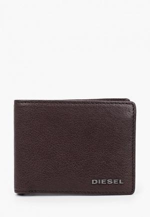 Кошелек Diesel. Цвет: коричневый
