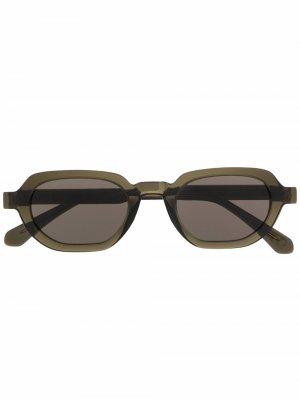 Солнцезащитные очки Banks с затемненными линзами Han Kjøbenhavn. Цвет: зеленый