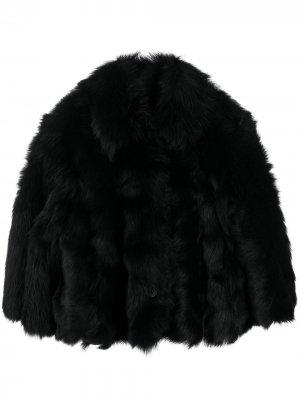 Укороченная куртка-бомбер RedValentino. Цвет: черный