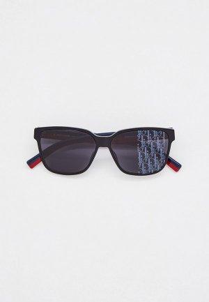 Очки солнцезащитные Christian Dior Homme DIORFLAG3 807  GREY SLV. Цвет: черный
