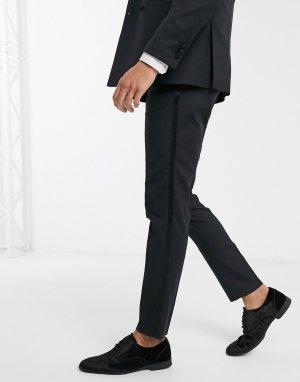 Черные брюки под смокинг -Черный Jack & Jones