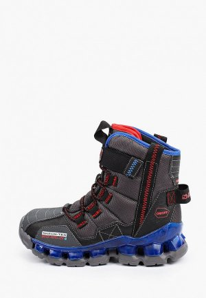 Ботинки Skechers Flashpod. Цвет: серый