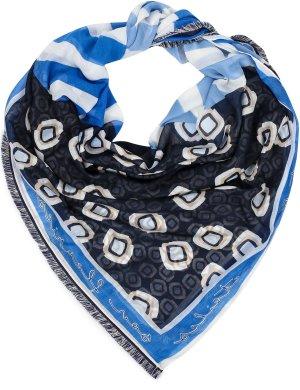 Шарф GERRY WEBER. Цвет: blue/ecru/white hoops