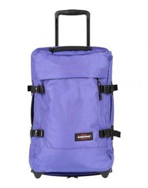Чемодан/сумка на колесиках EASTPAK. Цвет: фиолетовый