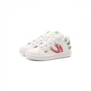 Кеды Stan Smith adidas Originals. Цвет: белый