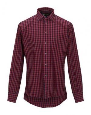 Pубашка BRANCACCIO. Цвет: красно-коричневый
