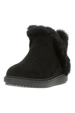 Ботинки Grand Style. Цвет: черный