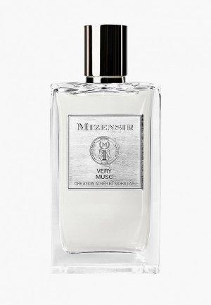 Парфюмерная вода Mizensir VERY MUSC EDP, 100 мл. Цвет: прозрачный