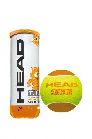 Мячи теннисные 3B Tip Orange HEAD. Цвет: желтый