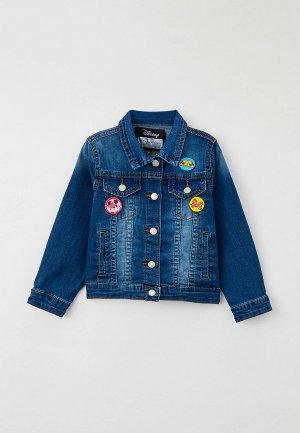 Куртка джинсовая PlayToday. Цвет: синий