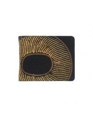 Бумажник DRIES VAN NOTEN. Цвет: черный
