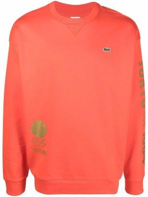 Свитер Olympics Tokyo 1964 Lacoste. Цвет: оранжевый
