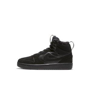 Ботинки для дошкольников Court Borough Mid 2 - Черный Nike