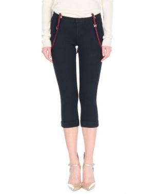 Джинсовые брюки-капри CYCLE. Цвет: синий