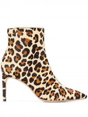 SOPHIA WEBSTER SES19096 LEOPARD Furs & Skins->Calf Leather. Цвет: коричневый
