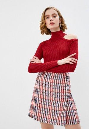 Водолазка DKNY. Цвет: бордовый
