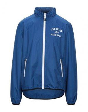 Куртка FRANKLIN & MARSHALL. Цвет: синий