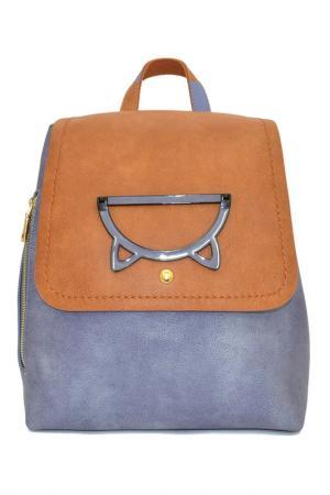 Сумка-рюкзак Burglar. Цвет: серо-синий, коричневый