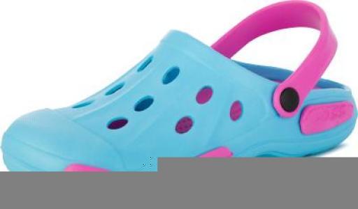 Шлепанцы для девочек Garden, размер 24 Joss. Цвет: голубой
