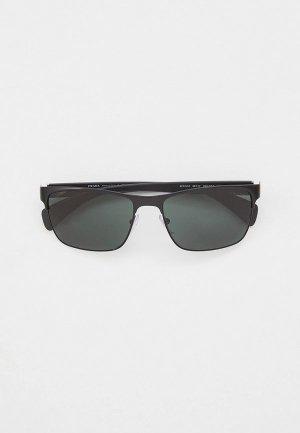 Очки солнцезащитные Prada PR 51OS 1BO3O1. Цвет: черный