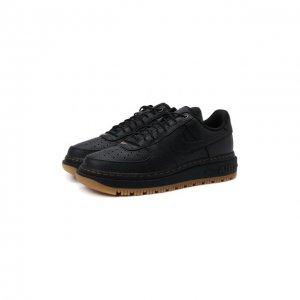 Кеды Air Force 1 Luxe NikeLab. Цвет: чёрный
