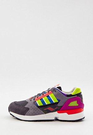 Кроссовки adidas Originals ZX 10,000 C. Цвет: серый