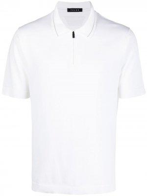 Рубашка поло с короткими рукавами Falke. Цвет: белый
