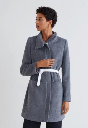 Пальто Mango - SWING-I. Цвет: серый